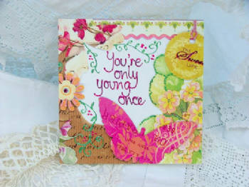 Adornment - Card - Young Once